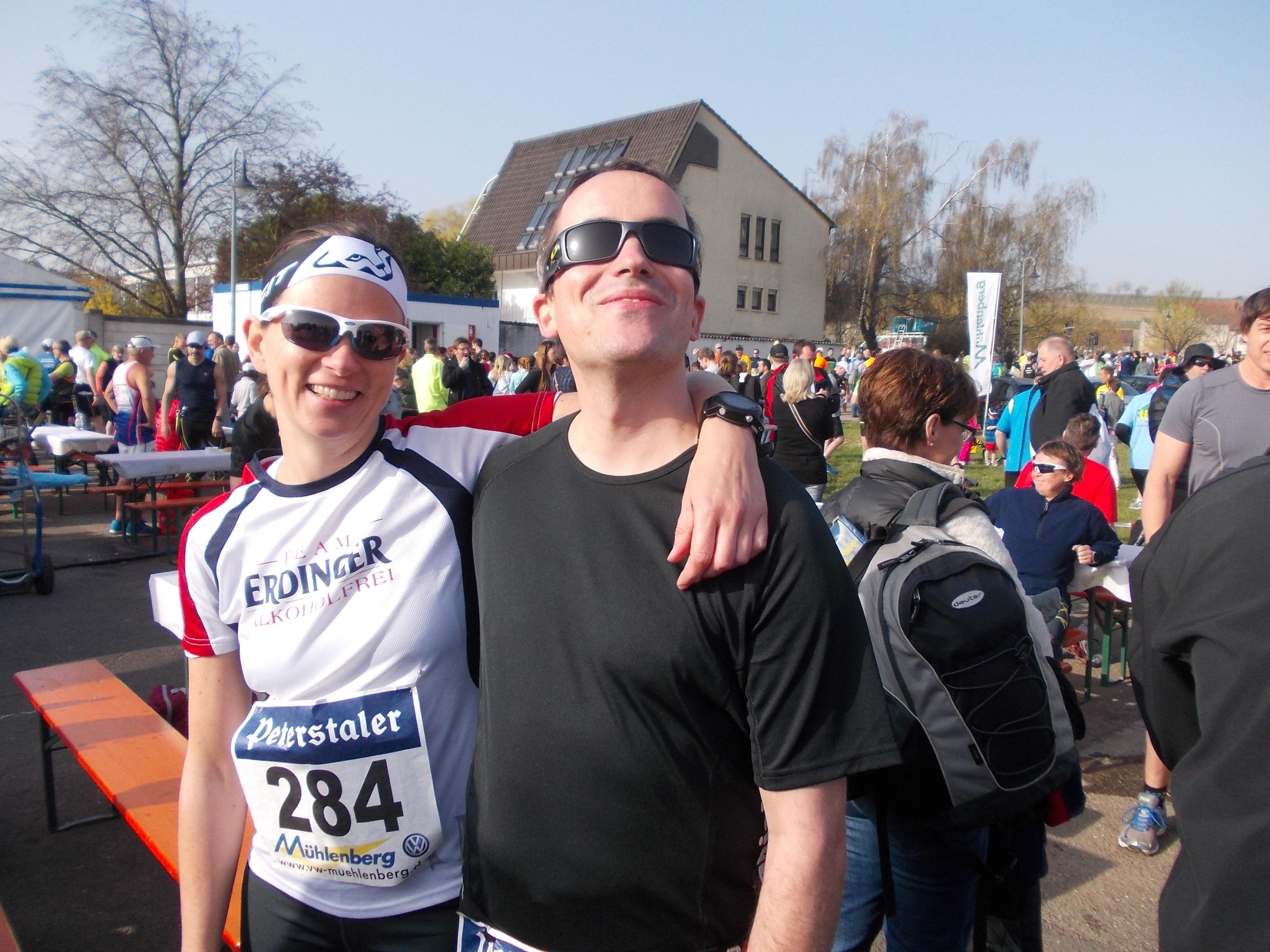 Marathon mit Riesling-Dusche