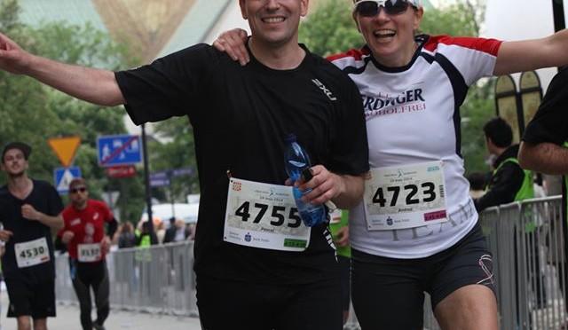 Geschichte immer im Blick: der Marathon in Krakau