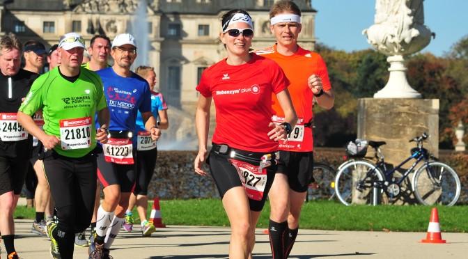 Traumwetter und Traumkulisse: Dresden Marathon 2014