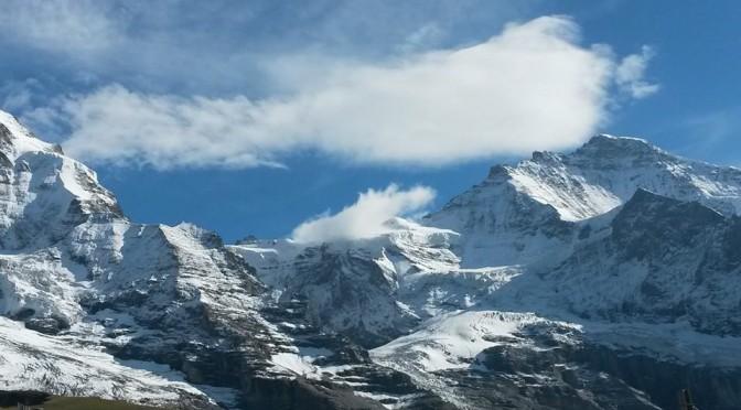 Wunderschöner Geburtstagslauf: Jungfrau-Marathon bei Traumwetter