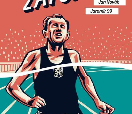 Tolle Graphic Novel über Emil Zátopek