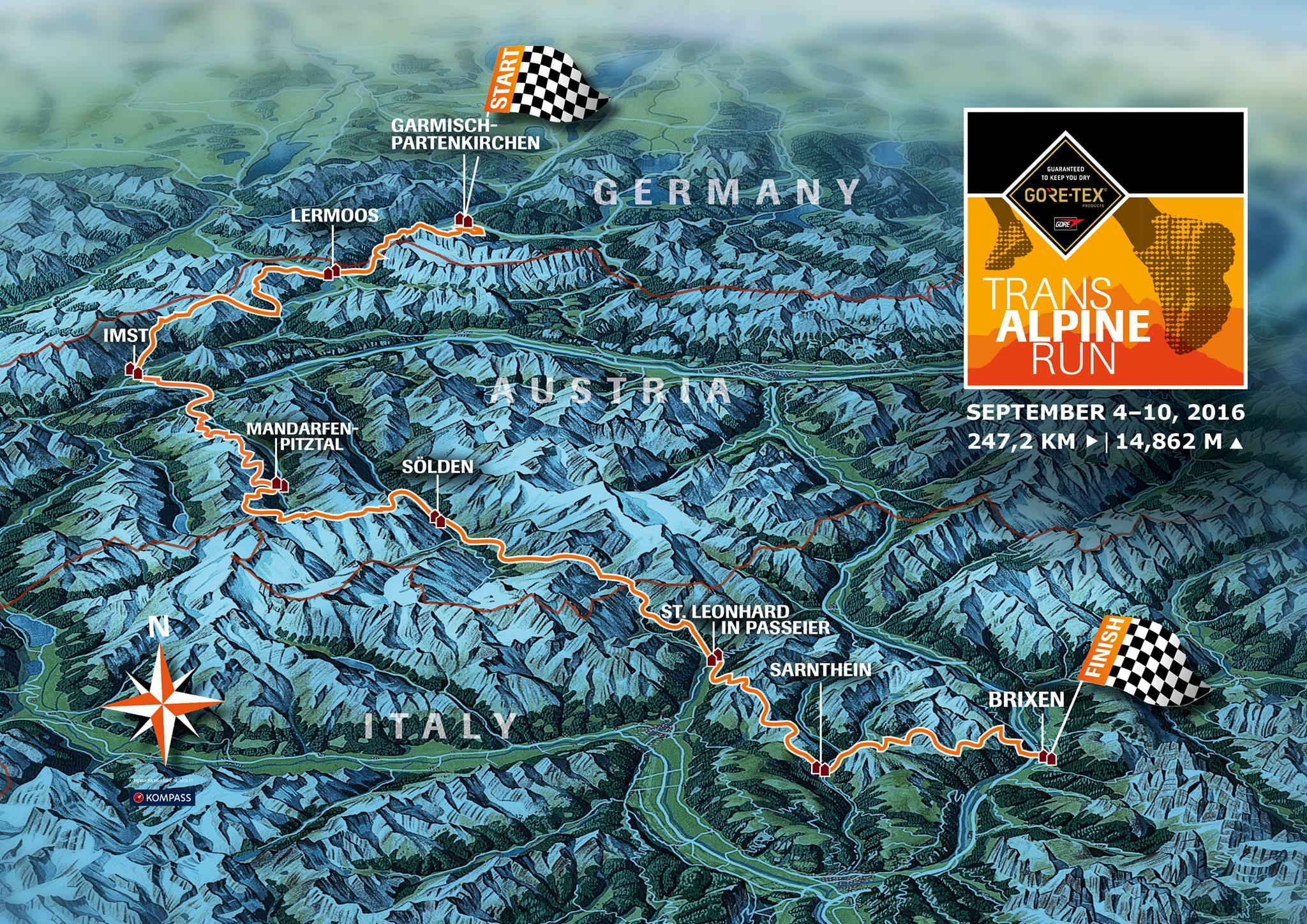 Trans Alpine Run 2016: Wir kommen!!!