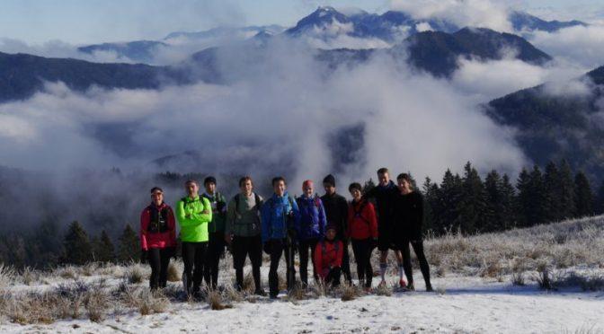 Bergläufer-Gruppe beim DAV