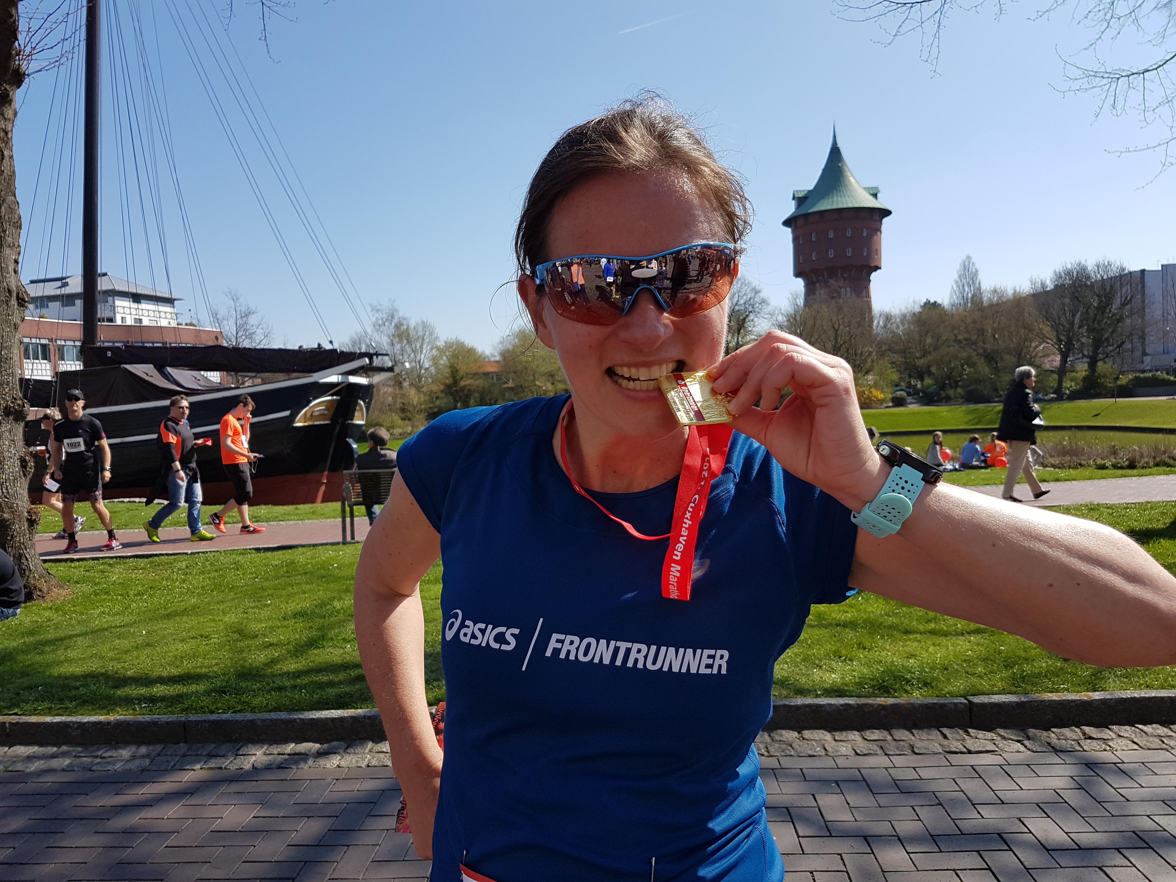Happy an der Nordsee: Bestzeit beim Cuxhaven Marathon