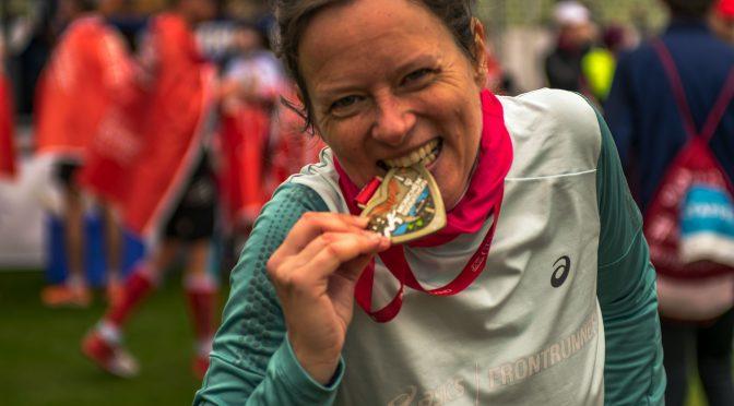 Emotionen beim München Marathon