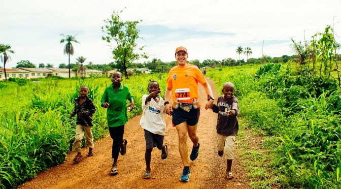 Laufabenteuer in Sierra Leone