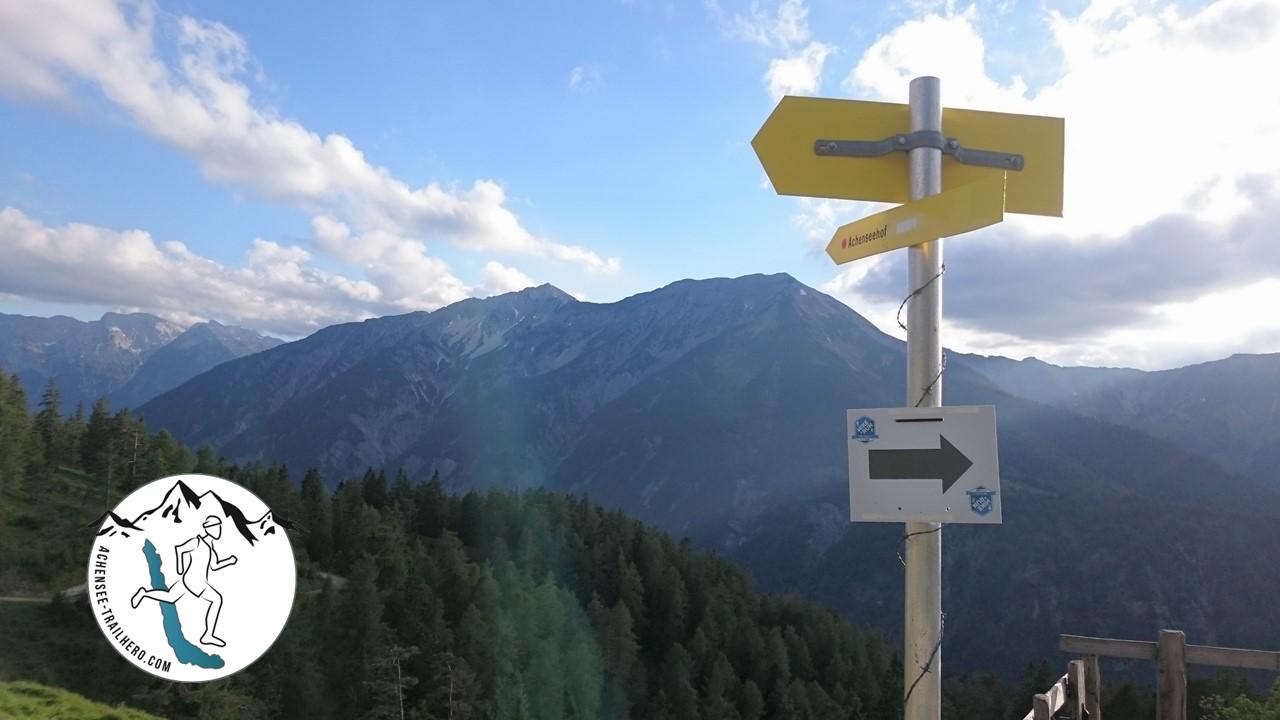 Wunderschöne Trails beim Achensee Trail Hero