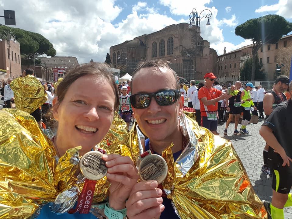 Blöder Start, tolles Finish: der Marathon in Rom
