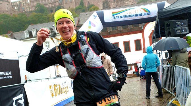 Wenn es zu kalt ist, laufe ich halt kürzer: Der Trail Marathon in Heidelberg