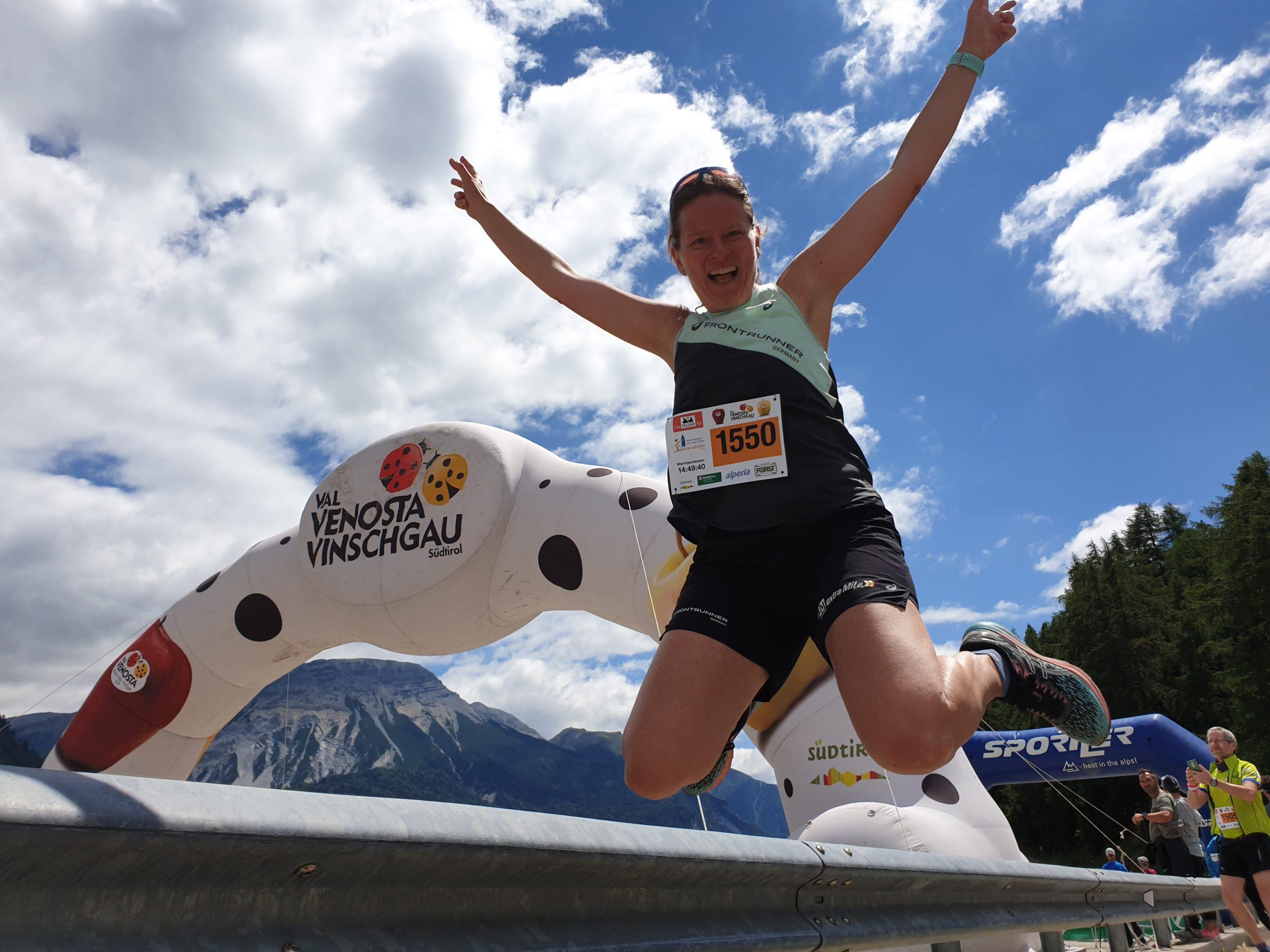 Wunderbarer Reschenseelauf: Endlich wieder ein Wettkampf