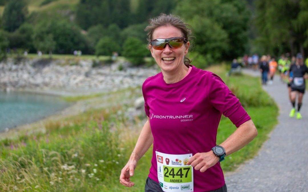 Reschenseelauf: Glückliche Läufer und eine Hochzeit
